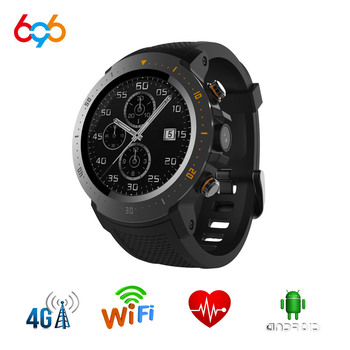696  A4 Smart Watch  GPS Bluetooth WiFi SmartWatch Heart Rate with Camera IP67 Waterproof Watch Android 7.1MTK 6739 Smartwatch