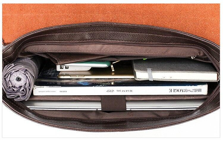 HTB1Bc9cSrrpK1RjSZTEq6AWAVXaE Famous Brand Business Men Briefcase Leather Laptop Handbag Casual Man Bag For Lawyer Shoulder Bag Male Office Tote Messenger Bag