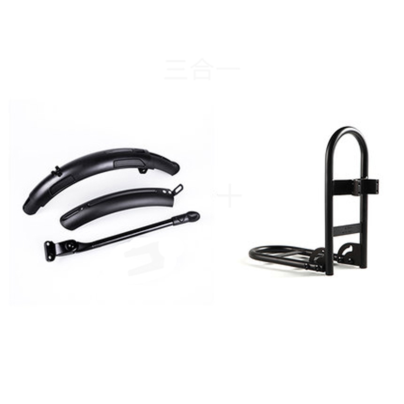 Bike Mudguard Kickstand Front Shelf for Qicycle EF1 Electric Bike Parts Fender Tripod Rack Original Upgraded Version corona processor shelf corona treatment 1100 film impact machine shelf the shelf the width the electric airsick discharge rack