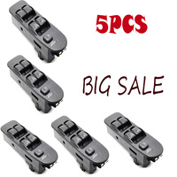 5pcs MR740599 MR792845 Power Window Switch Universal Electric Control Master Switches Front New For Mitsubishi Carisma