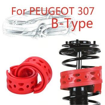 Jinke 1 coppia Anteriore Shock SEBS Size-B Bumper Power Cushion della Molla Dell'ammortizzatore di Buffer Per Peugeot 307