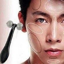 2pcs/lot T type face skin massager men's mini handheld face Health care