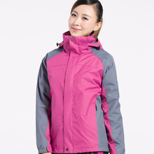 Winter Outdoor Climbing Camping Skiing 3in1 Softshell Warm Lover Cloth
