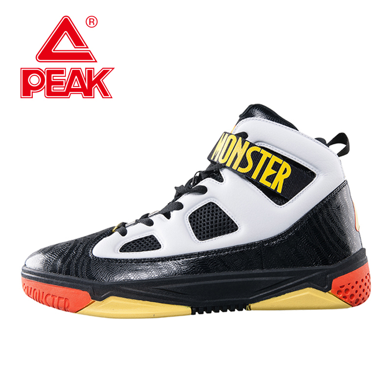 PEAK SPORT Monster 3.1 Professional Basketball Sport Shoes Men Athletic Breathable Sneaker FOOTHOLD Tech Training Ankle Boots peak sport hurricane iii men basketball shoes breathable comfortable sneaker foothold cushion 3 tech athletic training boots