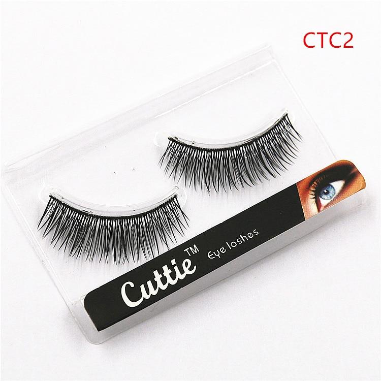 Soft False Eyelash 5 Pairs Professional Nature Long Fake