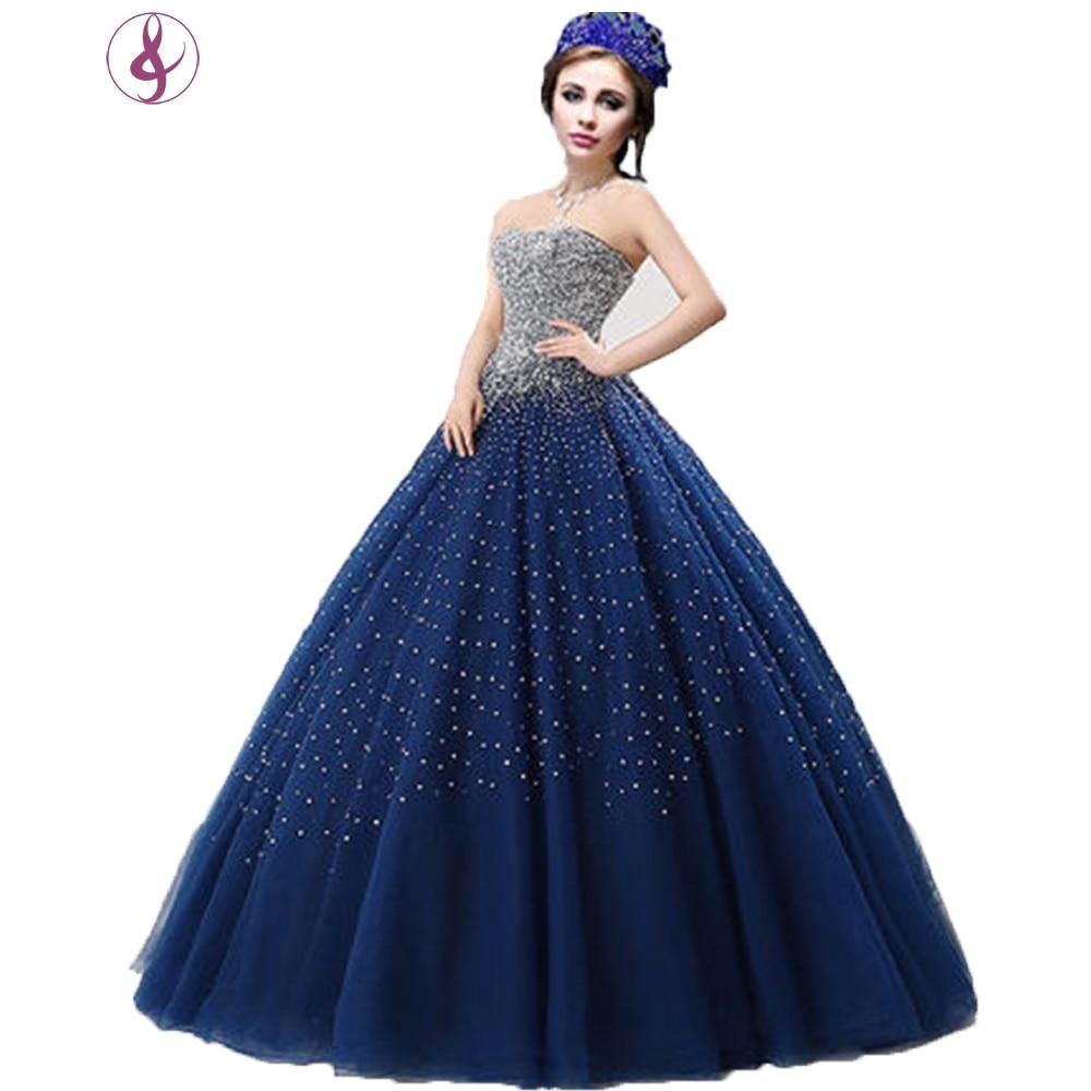 Popular Royal Blue Wedding Gowns-Buy Cheap Royal Blue