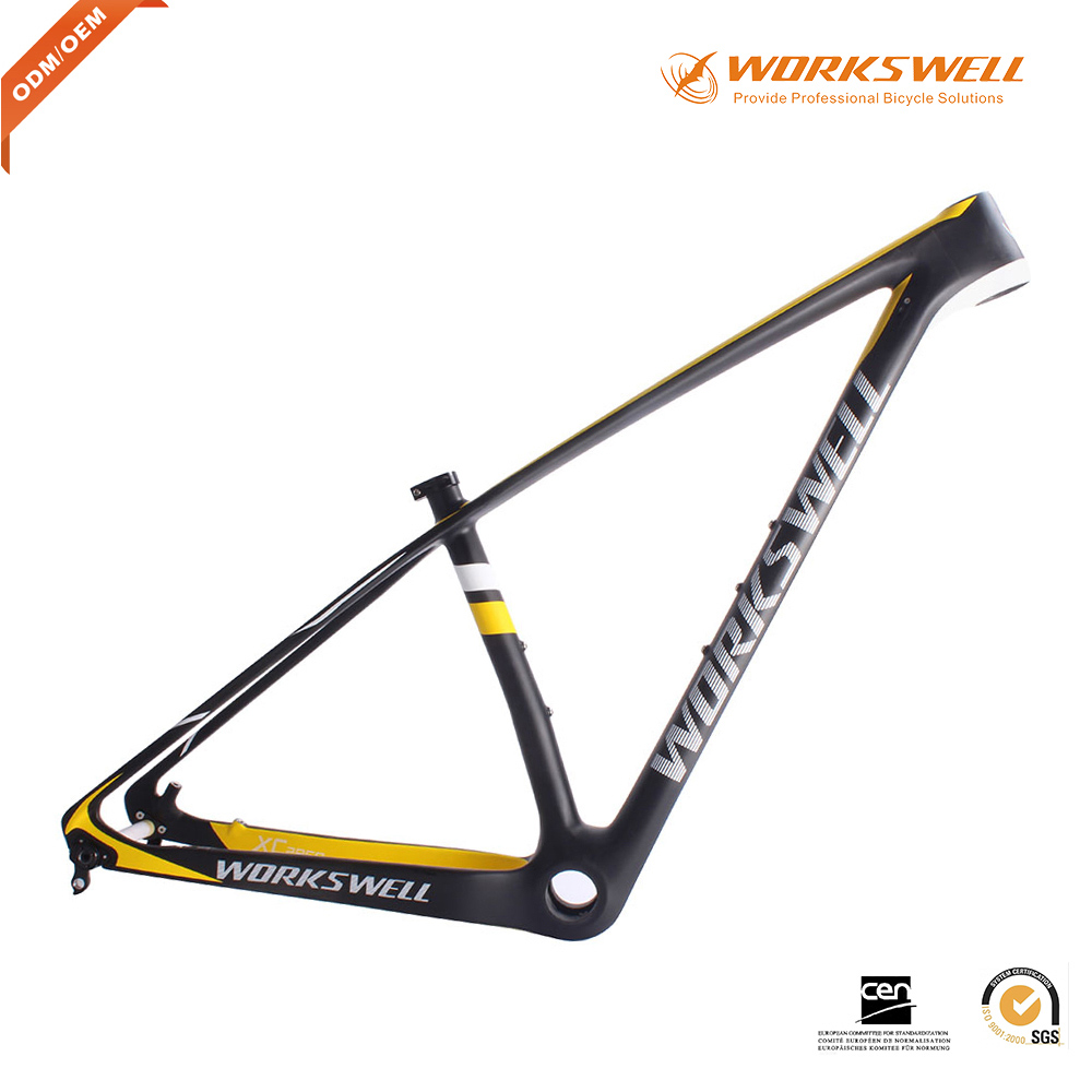 2016  High quality  15.51718.520 available, mtb carbon frame 29er  including frame,headset,clamp,thru axle free shipping