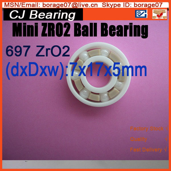 697 619/7  697 ZRO2 CB 7x17x5 mm  Full ZRO2 ceramic ball bearing микас 7 2 31602 3763010 дмрв бош нитевой