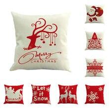 Vánoční dekorační polštářek s obrázkem