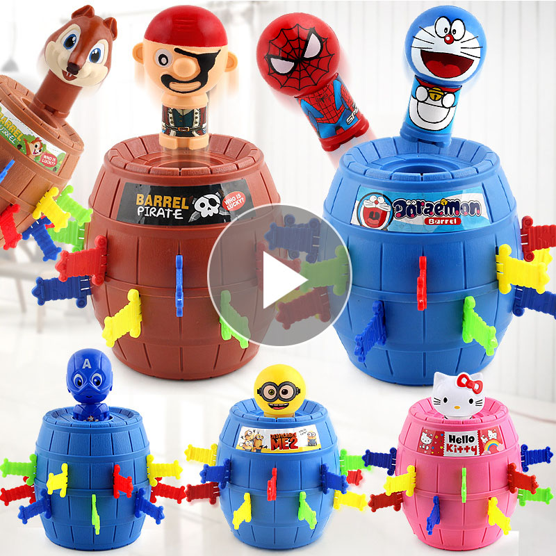 Pirate Bucket Barrel Games Lucky Stab Pop Up Toys Tricky Child Board Game Toys Jokes Gifts Autism Funny Anti Stress Prank 1