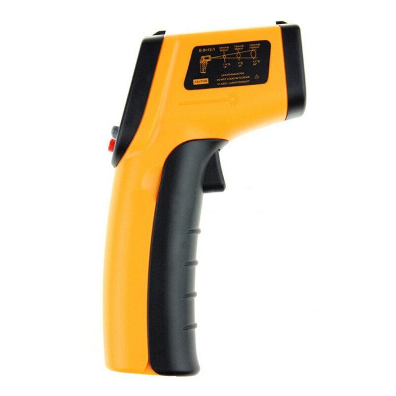 2018 Laser Gm320 senza Contatto Display LCD IR A Raggi Infrarossi Digital C/F Selezione Superficie di Temperatura del Termometro Per L'industria Uso domestico