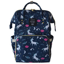 high capacity backpack for baby, pretty unicorn print backpack