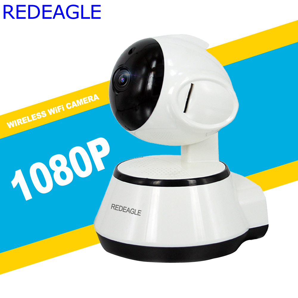 REDEAGLE 1080P 720P HD Wireless Wifi IP Camera Home Security Surveillance Cameras P2P IR-Cut P/T Night Vision CCTV Baby Monitor howell wireless security hd 960p wifi ip camera p2p pan tilt motion detection video baby monitor 2 way audio and ir night vision
