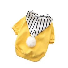 2018 New Fashion Dog Hoodies Pet Spring Autumn Soft Cotton Stretch Puppy Clothes Teddy Products