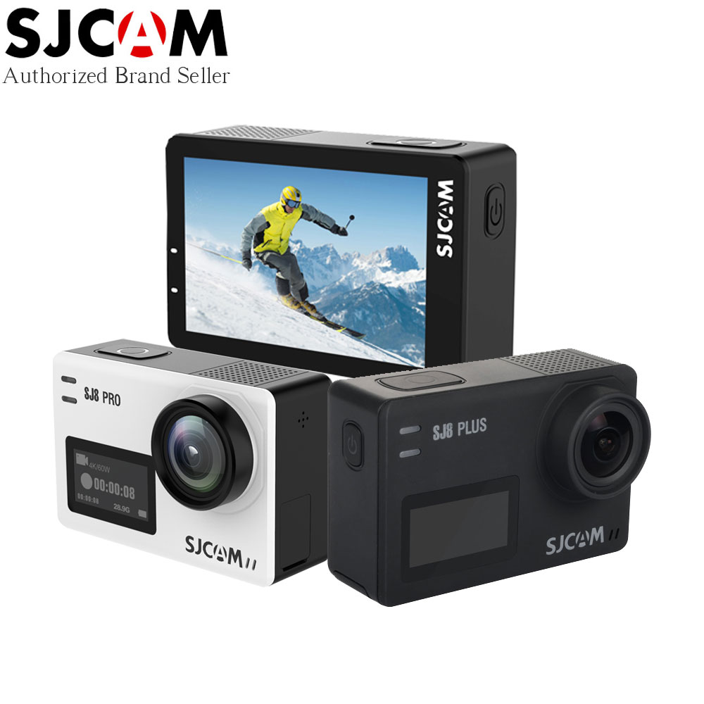 SJCAM SJ8 Serie Action Kamera SJ8 PRO 4 karat 60fps Touch Screen mit Anti Schütteln WIFI 1200 mah Batterie Wasserdicht sport Kamera