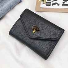 New Arrival Fashion Cute PU Leather Mini Wallet Women's Small Clutch Female Purse Ladies Coin Card Holder Bag