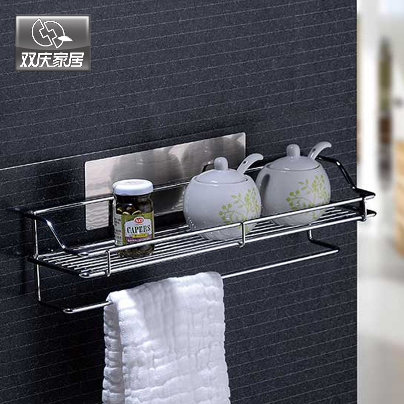 Free Shipping Wall Mounted Type Steel Holder Racks For Flavoring Rack Kitchen Storage Holder Wire Basket