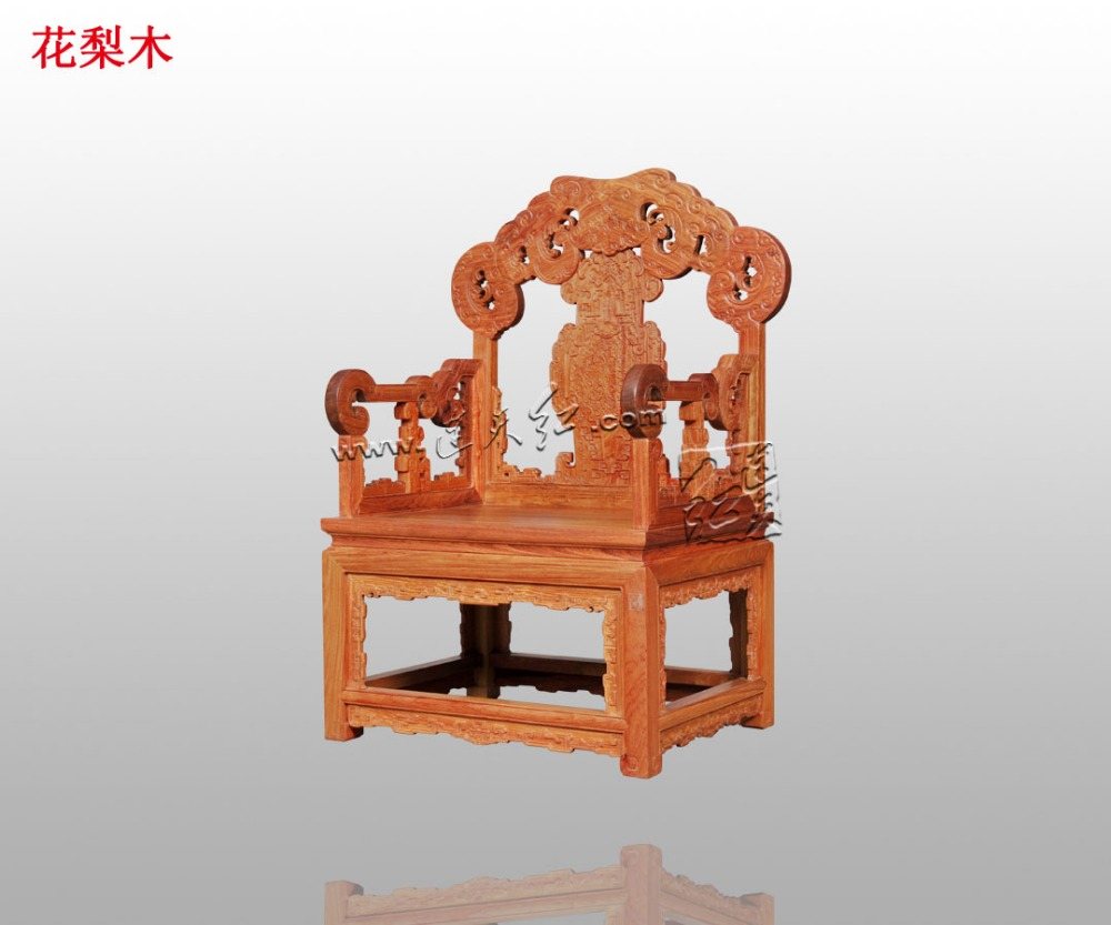 New Fashion China Style Rosewood Leisure Chair Living Reception Room Backed Table Armchair Solid Wood Office Furniture fauteuil classical rosewood armchair backed china retro antique chair with handrails solid wood living dining room furniture factory set