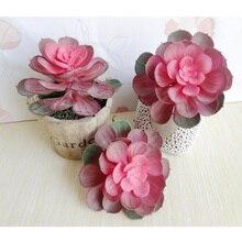 Minimaler auftrag $5 iWholesale Dekoration Sukkulenten Künstliche Blumen Mini Blume Pflanzen