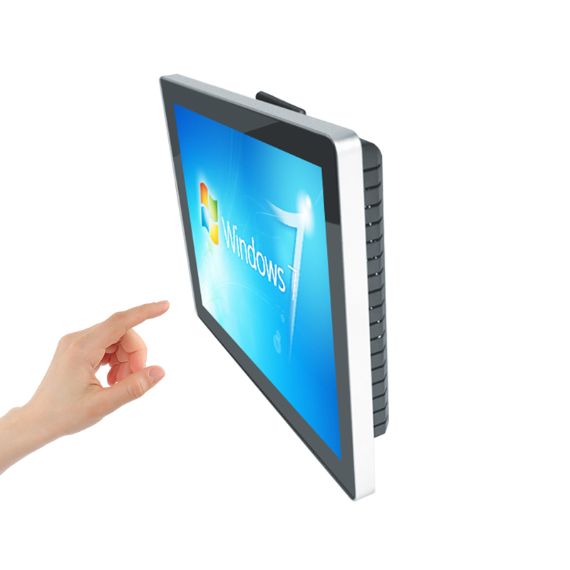 Manufacturer 15 inch waterproof digital touch signage totem