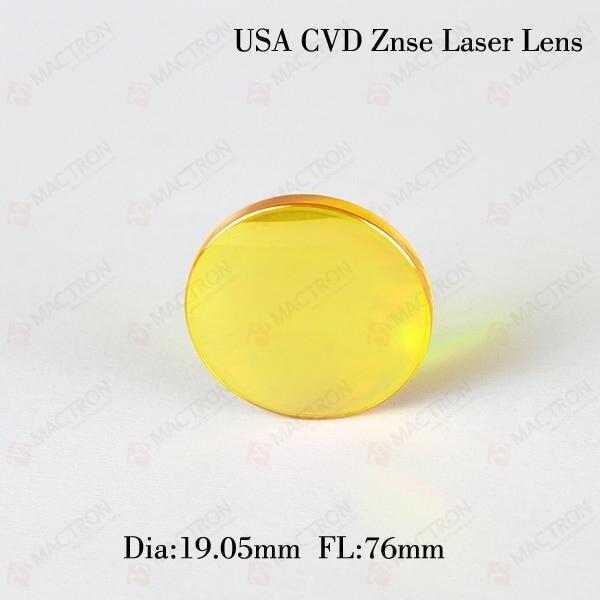 ФОТО 19.05mm Diameter Co2 Laser Focus Lens FL76mm