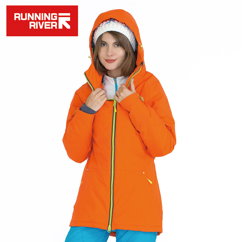RUNNING RIVER Brand  Snowboard Jacket For Women 4 Colors Size S - 3XL Windproof  Woman Warm Snowboard Winter Jacket #A3252 running river brand winter thermal women ski down jacket 5 colors 5 sizes high quality warm woman outdoor sports jackets a6012