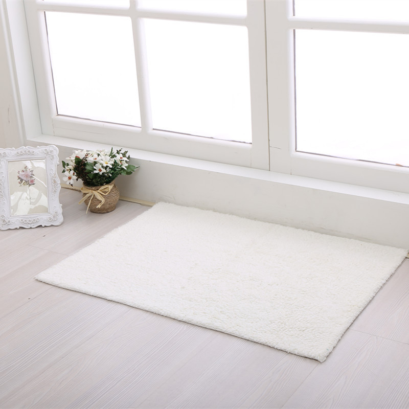 cotton solid 2016 kitchen mat modern bathroom carpet windows balcony doormat kid room tapetechina - Kchen Tapeten Modern