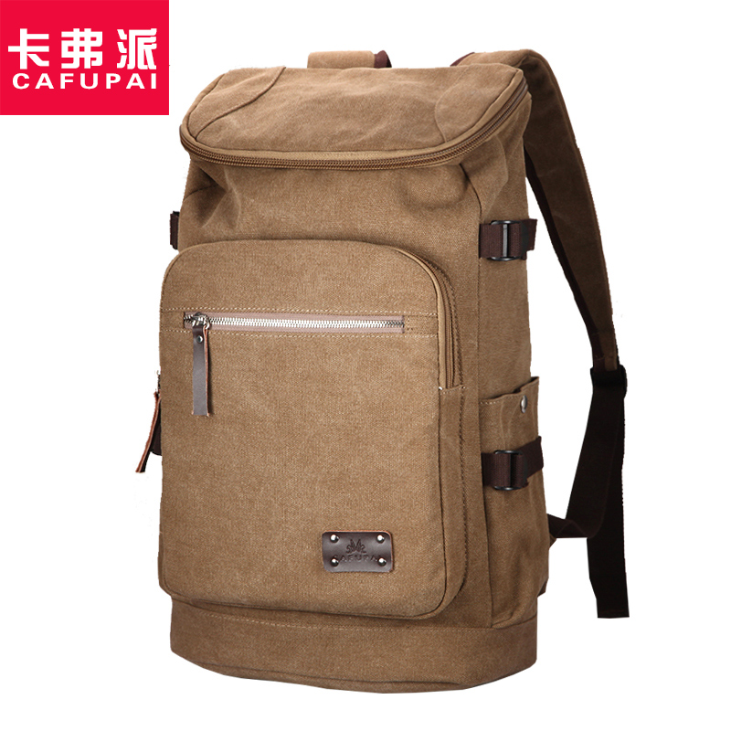Perfect Quality Canvas bag Large capacity Men's travel bags Fashion Outdoor Men Backpack Climing bag Hiking backpacks aosbos fashion portable insulated canvas lunch bag thermal food picnic lunch bags for women kids men cooler lunch box bag tote