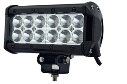 10-30V/36W LED Driving light LED work Light Bar led offroad light for Truck Trailer SUV technical vehicle ATVBoat