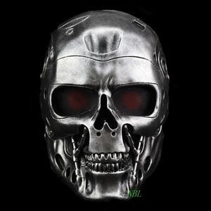 Image 4 - Halloween COS Terminator Helmet Masks Horror CS Paintball Ghost Creepy Resin Mask Masquerade Skull Movie Party Cosplay Props