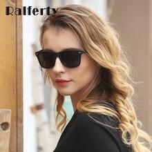 Ralferty Vintage Women Sunglasses Men Polarized Sun Glasses