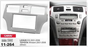Navirider android8.0 radio FM tape recorder 8 core 4gb RAM 32gb ROM FRAME+DVD stereo for LEXUS ES series Toyota Window 2001-2006