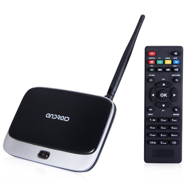 Q7 CS918 Android 4.4 Caixa de TV Full HD 1080 P RK3188T Quad Core Media Player 1 GB/8 GB XBMC KODI Wi-fi Melhor Do Que M8 MX MS Mini pc