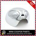 Nova marca Material ABS UV Protegido de Plástico Estilo Chrome Espelho Lateral Substituição Capa para mini cooper F56 F54 F55 F57