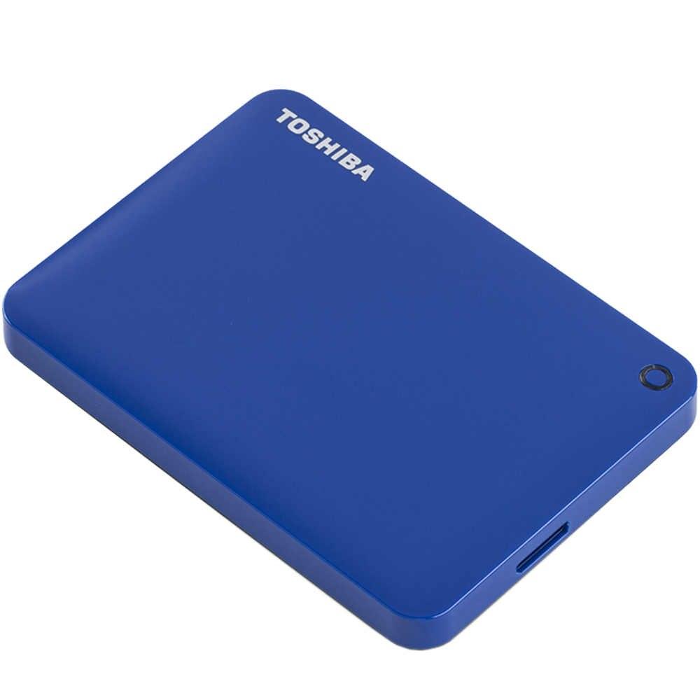 """Toshiba Canvio Connect II USB 3.0 da 2.5 """"1 tb Portable Hard Disk Esterno HDD Mobile di Crittografia Del Computer Portatile Del Desktop HDTC910YK3AA"""