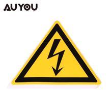 Giantree 25 мм 50 мм 78 мм Предупреждение ударные предупреждающие наклейки, предупреждаПредупреждение об опасности, Безопасная электрическая дуга