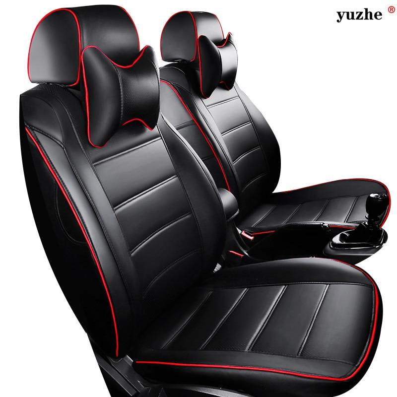 Nahast auto istmekate Toyota RAV4 PRADO Highlander COROLLA jaoks - Auto salongi tarvikud - Foto 1