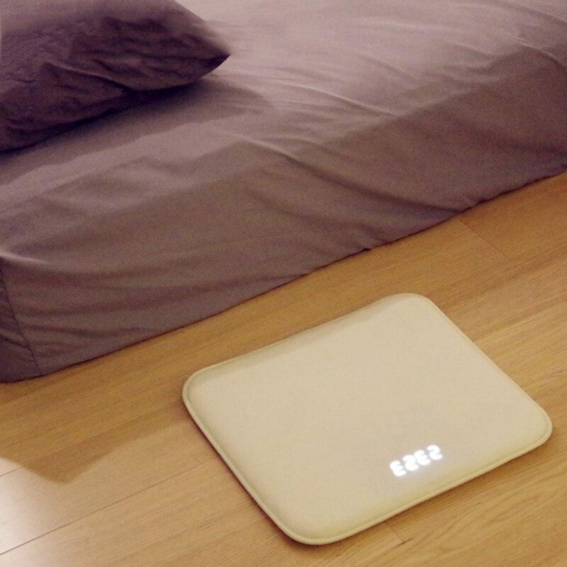 Réveil Intelligent tapis électronique paresseux horloge numérique pour les étudiants de col blanc touchant la musique réveil lumineux