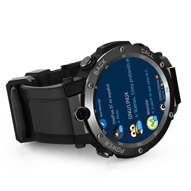 Ready Stock Smartwatch -THOR S 3G GPS WIFI 5MP Camera, SIM Standalone Call & Answer +Heart Rate Fitness