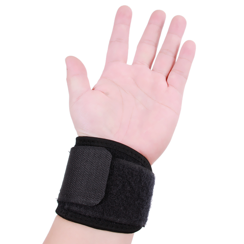 Elastic Weight Lifting Wrist Brace Wraps Support Training Fitness Gym Equipment