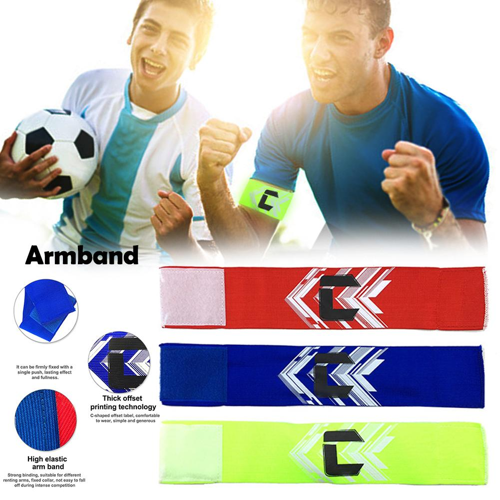 1 PC Adult Kids Breathable Nylon Football Soccer Elastic Captain Armband Elbow Exercise Health Care Child Nice Gift