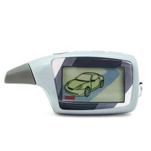 Mando a distancia LCD para scher khan Magicar 5, sistema de alarma para coche bidireccional, versión rusa, sher, Khan, magicar M5