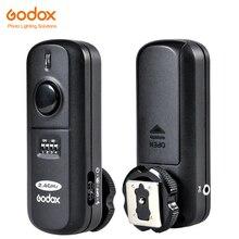 Godox FC 16 2.4GHz 16ช่องรีโมทคอนโทรลแฟลช Studio Trigger & ตัวรับสัญญาณชัตเตอร์สำหรับกล้อง Canon Nikon