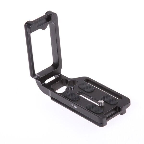 QR Quick Release Vertical L Plate Bracket for Nikon DF Digital Camera Arca Swiss