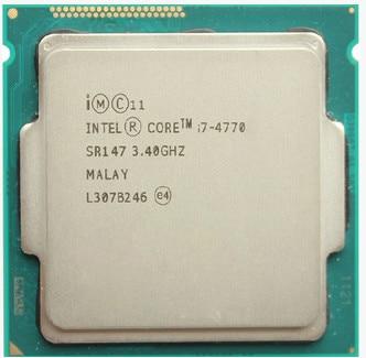US $148 4 |Intel Core Processor I7 4770 I7 4770 i7 4770 CPU LGA 1150 Quad  Core cpu properly Desktop Processor can work-in CPUs from Computer & Office