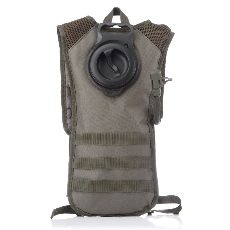 цены Waterproof Tactical Military nylon Backpack with Hydration System Bladder Water Bag Pouch for cycling Hiking Climbing