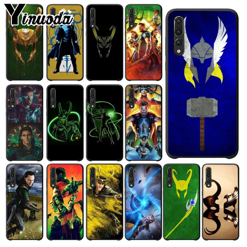 Yinuoda Marvel Hero Loki Novelty Fundas Phone Case Cover for Huawei Mate10 Lite P20 Pro P9 P10 Plus Mate9 10 Honor 10 View 10 image