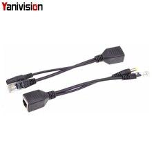 Poe Passief Kabel Splitter Power Over Ethernet Poe Splitter & Injector Kabel Kit Poe Adapter, poe Adapter Kabel Dc 12V