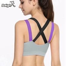 Balight Women Fitness Sports Bra Breathable Quick Dry Running Yoga Bra For Women Non Rims