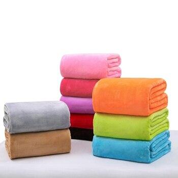 1pc Baby Blan Flannel Fleece Infant Swaddle Nap Receiving Stroller Wrap For Newborn Baby Bedding Blankets 50*70/70*100cm
